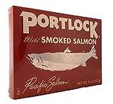 Portlock Wild Pacific Smoked Salmon, 8 Ounces