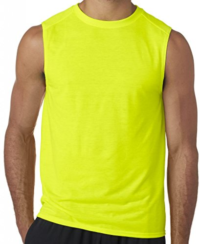 Mens+Tank+Tops Products : Yoga Clothing For You Mens Moisture-wicking Muscle Tank Top Shirt