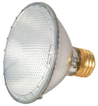 15 Pack Satco S2234 39 Watt 530 Lumens PAR30 Halogen Narrow Flood 34 Degrees Dimmable Clear Light Bulb (50 Watt Replacement)