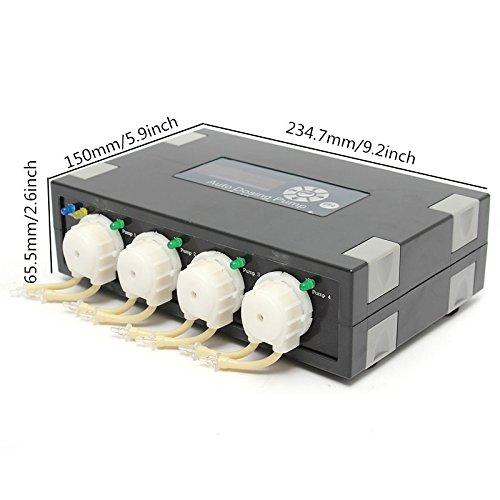 100-230v 234.7 X 150x 65.5 Mm Dp-4 Auto Dosing Pump -automatic Doser For Reef Aquarium Elements Fish Tank Accessories