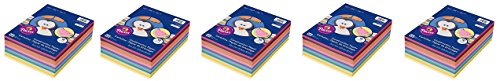 Pacon - Rainbow Super Value Construction Paper Ream, 45 lb, 9 x 12, Assorted - 500 Sheets (Pack 5) by Pacon