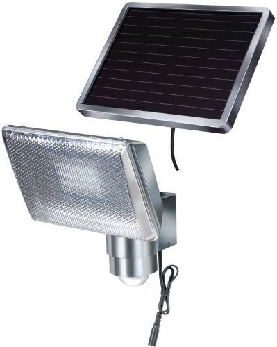 Brennenstuhl Solar LED-Strahler SOL 80 ALU IP44 mit Infrarot-Bewegungsmelder 8xLED Alu, 1170840
