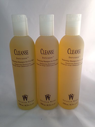 (Graham Webb Cleanse Infusion Thickening Shampoo 8.5 oz ~ 3 PACK)
