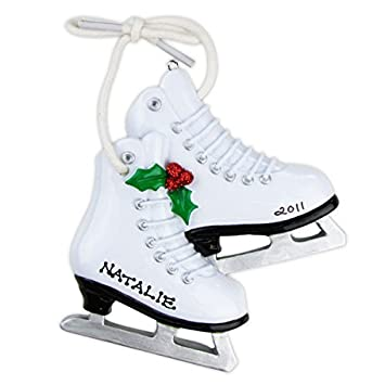 Amazon.com: Ice Skates Christmas Ornament: Home & Kitchen