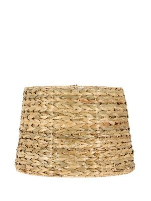 Upgradelights All Natural Woven Seagrass 16 Inch Washer Fitted Lampshade -