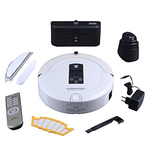 Amazon.com: PAKWANG A325 Smart Robot vacuum cleaner with 2-way virtual wall, Auto recharge robot vacuum cleaner for home: Home & Kitchen