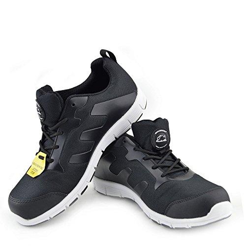 Adulto Kick Da Scarpe Stivali Antinfortunistiche Groundwork Uomo Neve Nero bianco scarpe Unisex Footwear aaqgIO