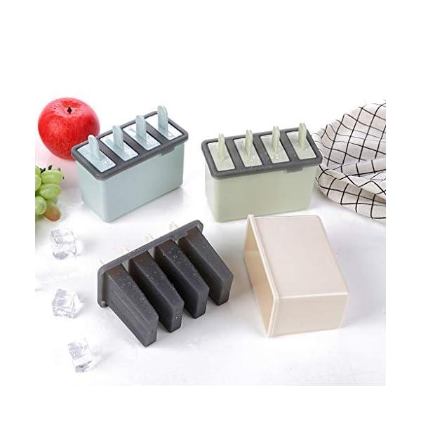 Rolin Roly Set di 2 Stampi per Gelato Durevole Stampi per ghiaccioli Riutilizzabile Gelati Crema Stampo Design a Doppio… 6 spesavip