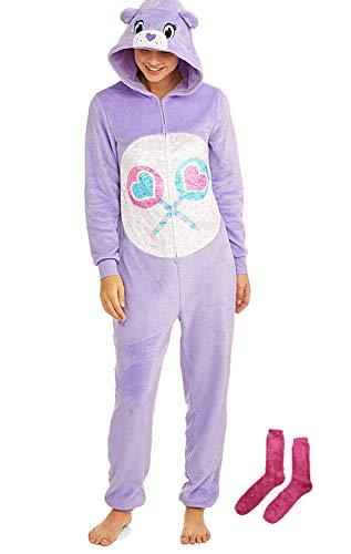 Care Bears Women's Sleepwear Union Suit Set with