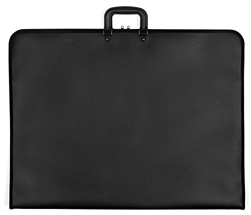 Rex Art Element Polypropylene Portfolio - Color: Black - Size: 24'' x 36'' x 1.5'' by Rex Art