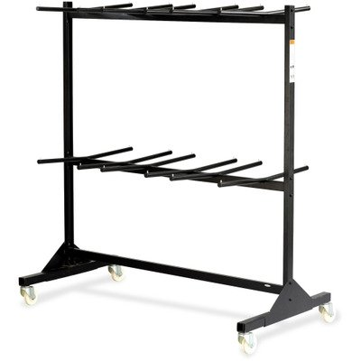 SAF4199BL - Safco Double Tier Chair Cart