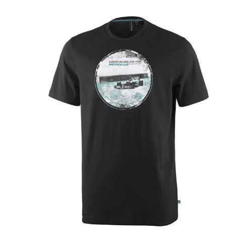 Mercedes AMG Petronas X-Large Men's Graphic Tee - Black