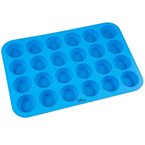 silicone muffin pan cupcake baking set non stick bpa free dishwasher safe silicon. Black Bedroom Furniture Sets. Home Design Ideas