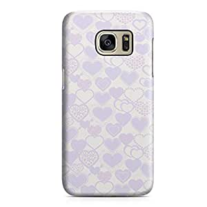 Samsung S7 Case Heart Love Pattern Pattern Great For Girls Durable Metal Inforced Light Weight Samsung S7 Cover Wrap Around 90