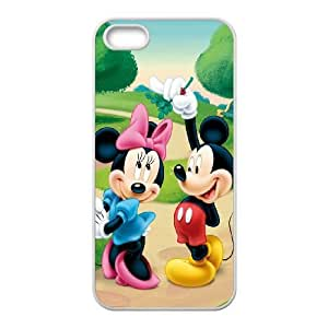 iPhone 5,5S Phone Case White Minnie Mouse TH6GH567605
