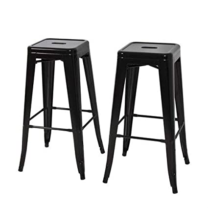 Admirable Amazon Com Picotech 30 Inches High Metal Backless Bar Stool Ibusinesslaw Wood Chair Design Ideas Ibusinesslaworg