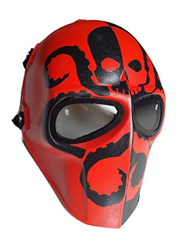 Invader King Hydra Army of Two Airsoft Mask Protective Gear Outdoor Sport Fancy Party Ghost Masks Bb Gun (Halloween Masks Tutorial)