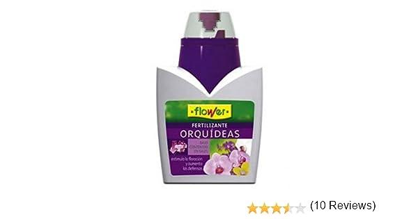 Flower 10723 10723-Abono líquido orquídeas, 300 ML, No Aplica, 9.3x6.2x15.2 cm: Amazon.es: Jardín