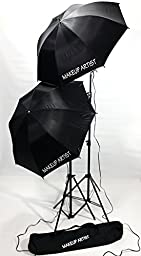 Tuscany PRO MakeUP Artist Light Set-Carry Bag-High Quality Product-Set of Two