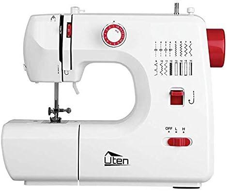 Uten Máquina de coser electrónica multifuncional y ajustable con ...