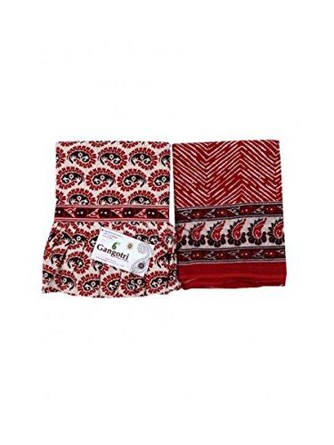 Skirt And Dupatta Set Red