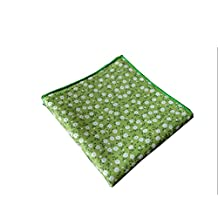 Sitong men's suits cotton small floral printed pocket square handkerchiefs
