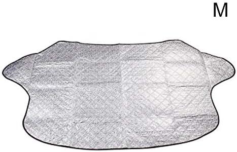 自動車用 フロントガラス サンシェード 取り付け 簡単 雪 霜 から 守る 凍結防止 日除け 保護 カバー ビニールバッグ付 カー用品 落葉対策 凍結防止 日よけ 遮光 断熱 厚手 四季用 SUV車/軽自動車に適用