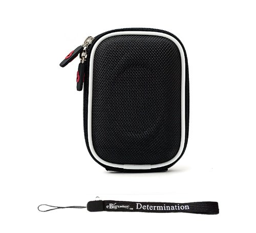 nylon-black-durable-slim-protective-storage-cover-cube-carrying-case-with-internal-mesh-pocket-with-