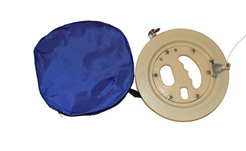 Professional Kite Reel Winder with Strong Fiber Line (Beige) 9 inch Diameter with 1,000 FT Line ... ()
