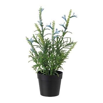 Ikea Fejka Plante Artificielle En Pot Artificiel Bleu