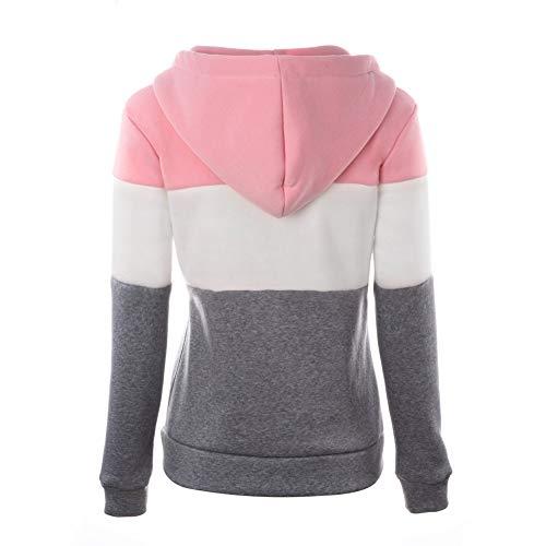Automne Longues Newbestyle Sweat Femme Printemps Manches Hoodies Shirt qBwEZTSpw