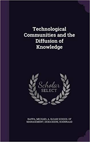 Book Technological Communities and the Diffusion of Knowledge