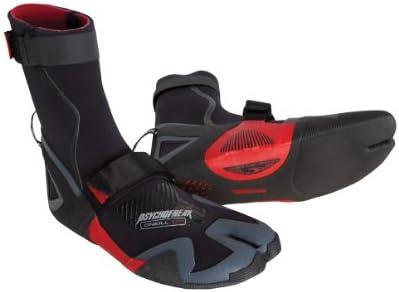 O'Neill Wetsuits Men's Psychofreak 3.5 mm Split Toe Boot, Black, 6