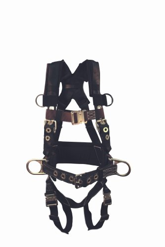 Elk River 97103 Onyx Platinum Series Polyester/Nylon 3 D-rings Harness with Quick-Connect Buckles, Large by Elk River