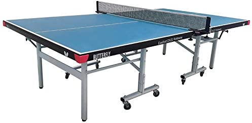 Butterfly Easifold DX 22 Table Tennis Table – 3 Year Warranty Ping Pong Table – 10 Minute Quick Assembly – Folding with Wheels – Compact Storage Ping Pong Table