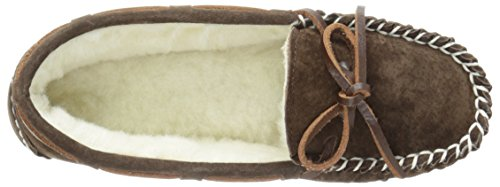 II Britian Chocolate Lamo MC Moccasin Women's Hz6qnftYwx