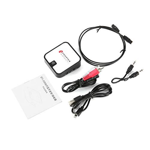 Transmisor de Bluetooth y el Receptor, 2 en 1 inalámbrico estéreo DE 3,5 mm Bluetooth Fibra Adaptador de Audio coaxial, para el hogar PC TV Auriculares ...