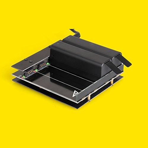 Junsi Junsi Junsi Four Battery Ports Extend Parallel Board Charger w/Adapter for DJI OSMO Camera Kamera 8aaa44