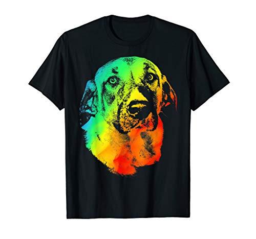 ANATOLIAN SHEPHERD Colorful Rainbow Retro T-shirt
