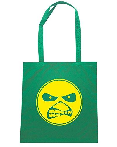 T-Shirtshock - Bolsa para la compra TUM0181 ultras hooligans Verde