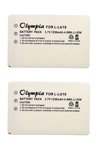 2 Pack L-LU18 Replacement Battery for Logitech