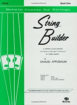 String Builder  Violin Book One (Belwin Course for Strings) by [Applebaum, Samuel]