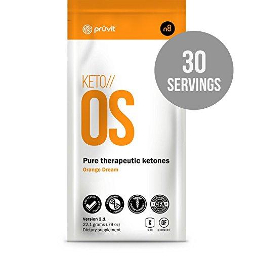 Pruvit Keto OS 2.0 Caffeine-Free Ketone Supplement, 30 Sachets by Pruvit