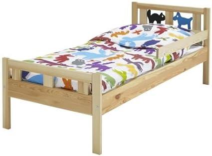 IKEA KRITTER - Estructura de cama con somier de láminas, pino ...