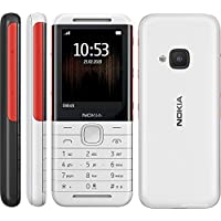 NOKIA 5310 Feature Phone, 16MB RAM, Wireless FM Radio - White/Red
