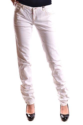 Dsquared2 Damen MCBI107031O Weiss Baumwolle Jeans