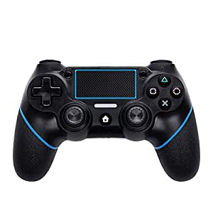 Ocamo Bluetooth Wireless 6 Axies Game Controller Gamepads for PS4 dark blue