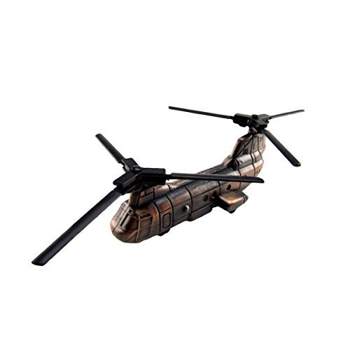 TG,LLC Metal Replica CH-47 Transport Helicopter Die Cast Pencil ()