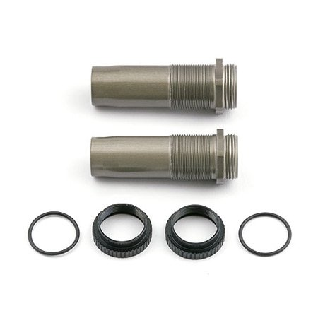 Team Associated 7414 1.02 T4 Threaded Shock Bodies (2)