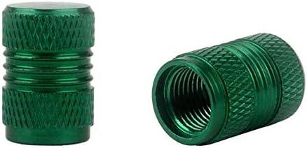 Dust Caps Anti-Dust Valve Caps for Tyres Colour GREEN UK STOCK BETH 4pcs Valve Stem Caps with SEAL RING Aluminium Alloy Valve Stem Caps